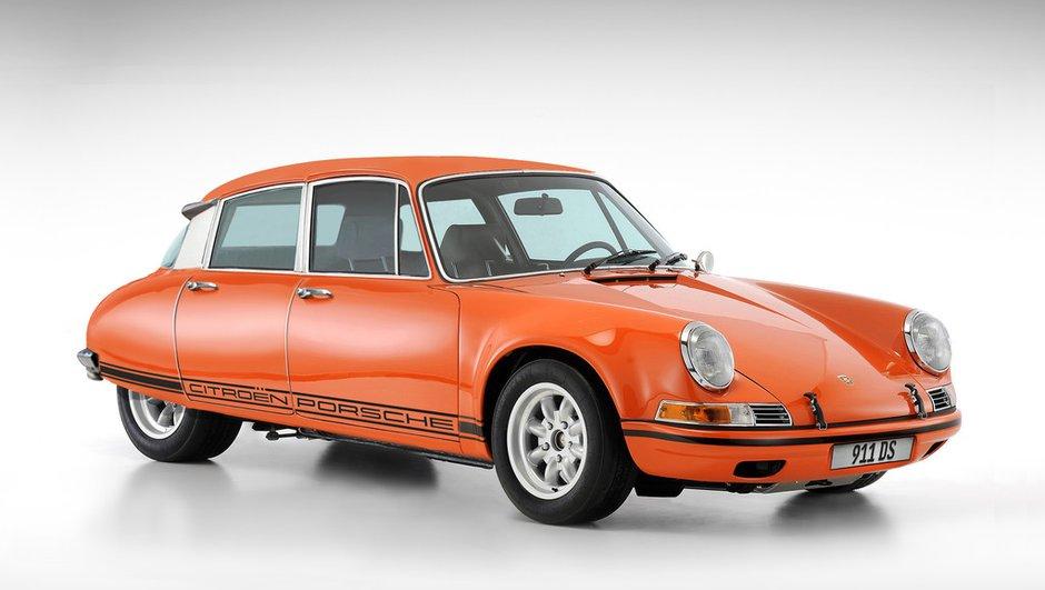 Insolite : 911DS, ils ont mélangé la Citroën DS et la Porsche 911 !