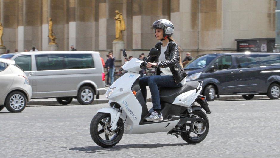 Cityscoot : 70 scooters électriques expérimentés en location dans Paris