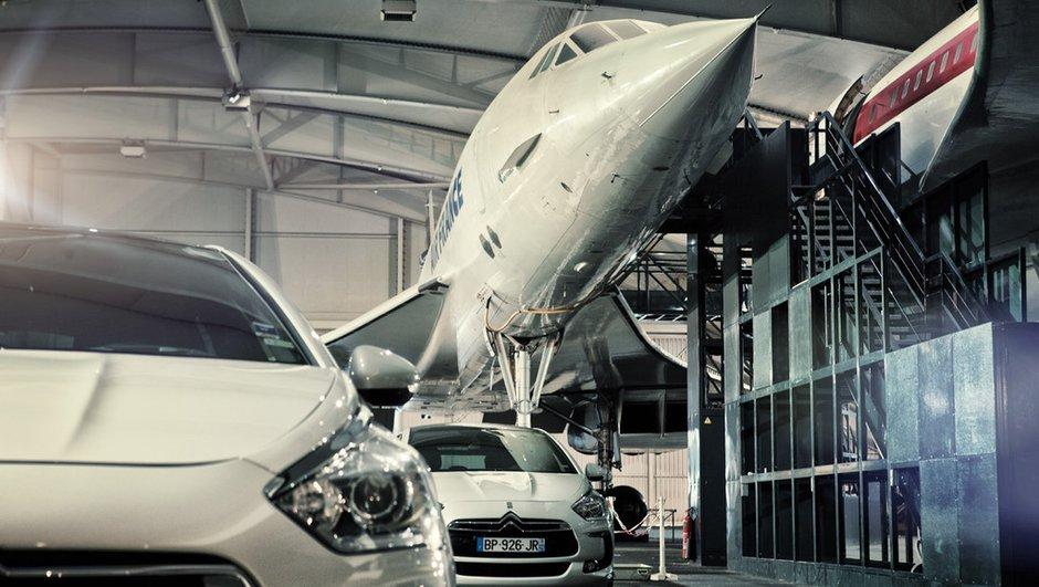 Rencontre aérienne entre une Citroën DS5 et un Concorde