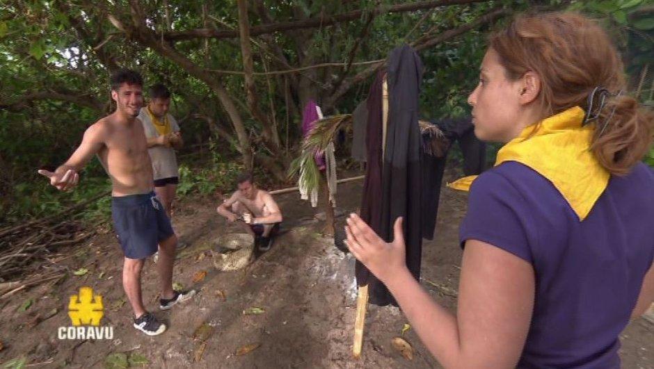 Entre Marvyn, Théotime, Mel et Tiffany, ça clashe chez les Jaunes ! (VIDEO)