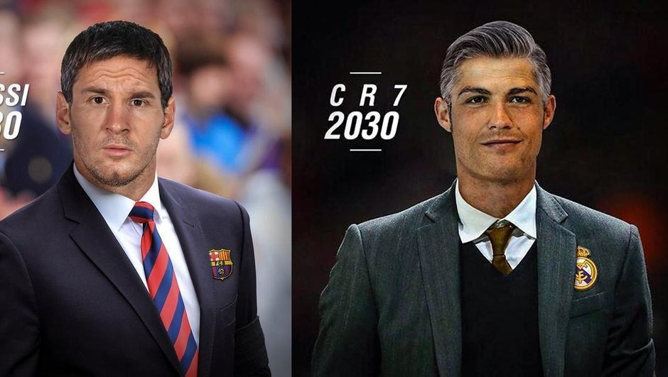 A quoi ressembleront les stars du foot en 2030 et 2035 ?