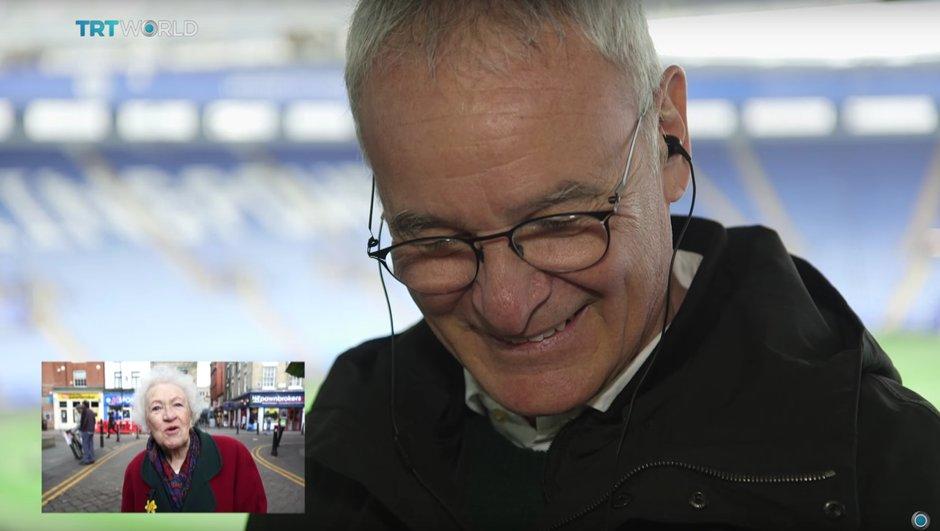 Vidéo : Ranieri au bord des larmes devant les messages des fans de Leicester