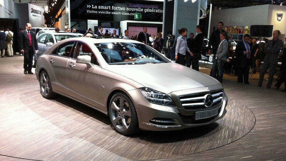 Mercedes CLS, la nouvelle génération au Mondial de l'Auto