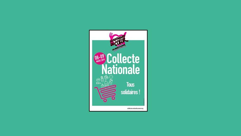 Collecte nationale des Restos du coeur : 8 et 9 mars 2019