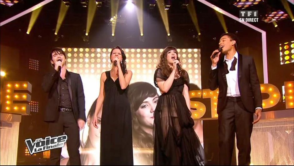 The Voice : les quatre voix de la finale