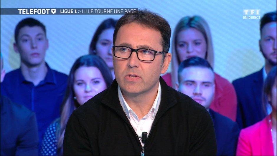 """[Exclu Téléfoot 15/01] - Patrick Collot : """"Pour le moment, je suis l'entraîneur de Lille"""""""