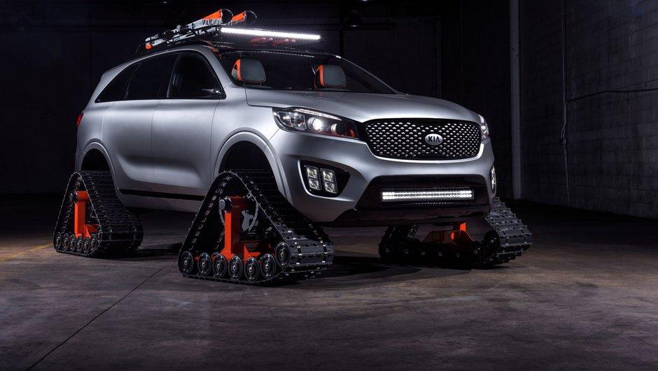 SEMA Show 2016 : Kia présente 4 concept-cars autonomes