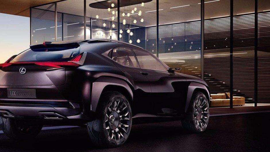 Mondial de l'Auto 2016 : Lexus UX Concept, le SUV petit mais costaud