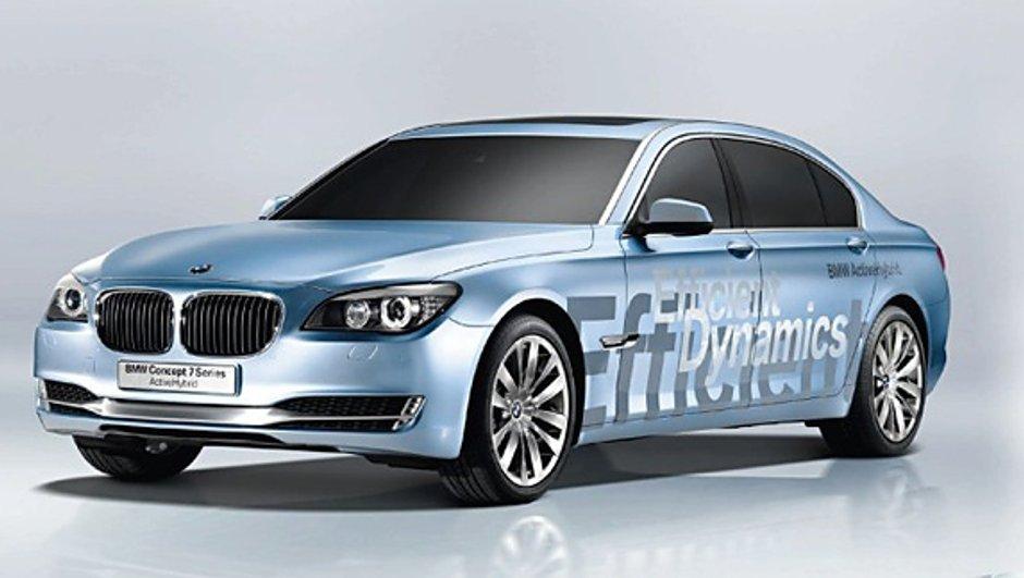 Concept Série 7 ActiveHybrid : l'hybride haut de gamme selon BMW