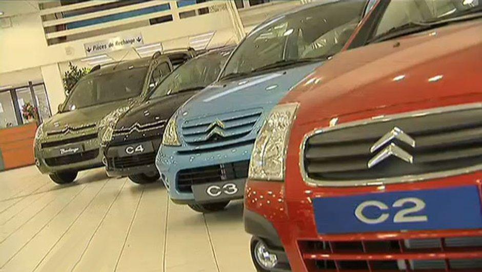 Citroën : 13.500 voitures vendues... sans siège !