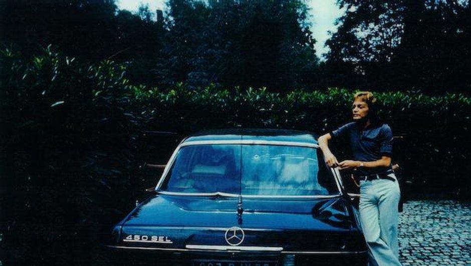 La Mercedes 450 SEL ex-Claude François en vente à Chantilly