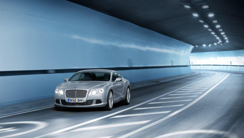 Mondial de l'Auto 2010 : la Bentley Continental GT dévoile... son prix !