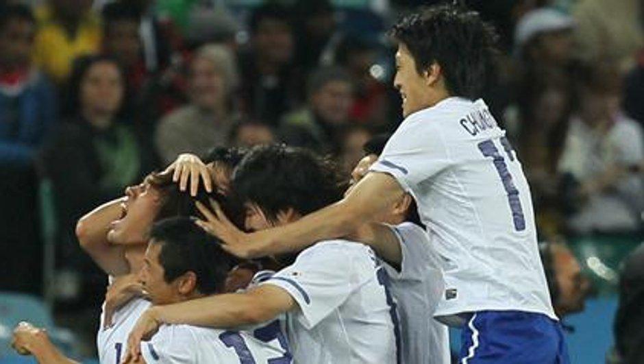 La Corée du Sud avec l'Argentine