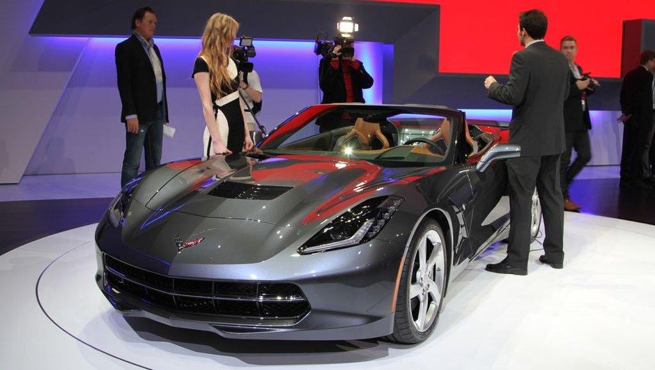 Salon de Genève 2013 - Live : Corvette Stingray Cabriolet, séduisante américaine