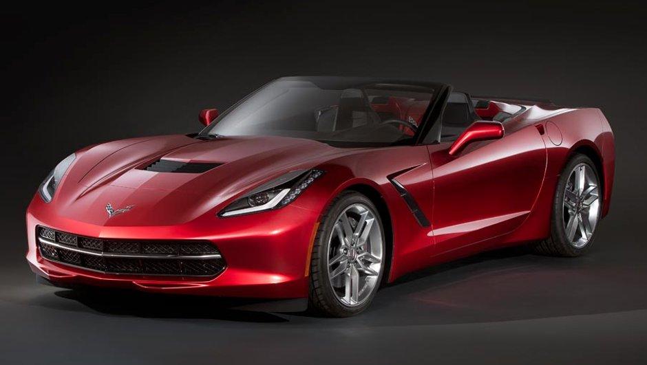 Corvette Stingray 2014 Cabriolet : photos ou illustrations ?