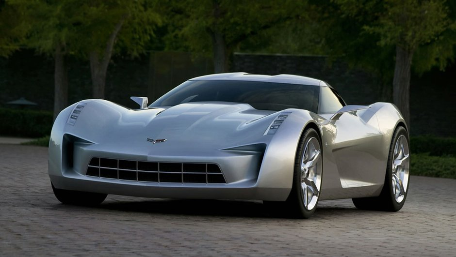 Corvette Stingray Concept : l'héroïne de film