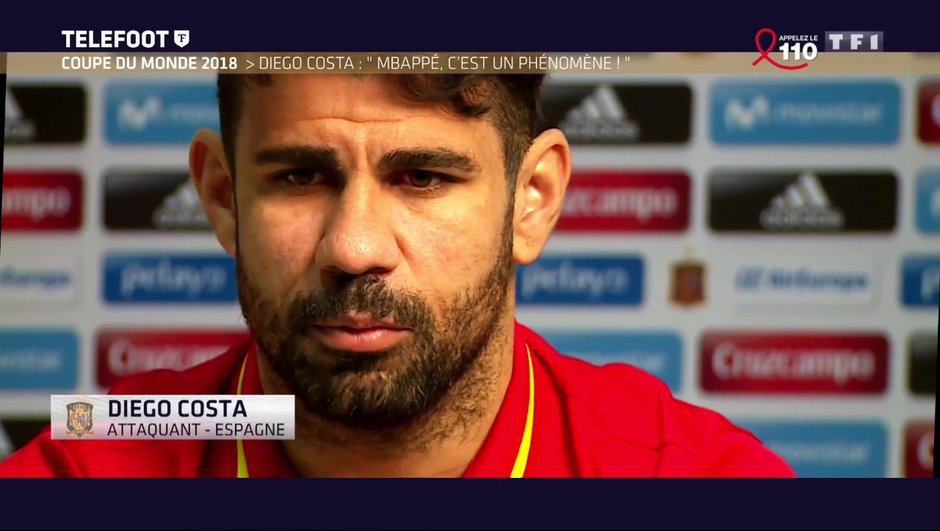 "[Exclu Téléfoot 26/03] - Diego Costa : ""Marseille a un beau projet"""