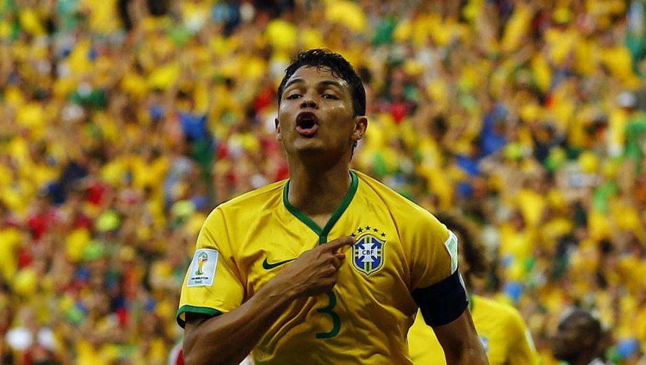 Brésil : Thiago Silva encore écarté par Dunga