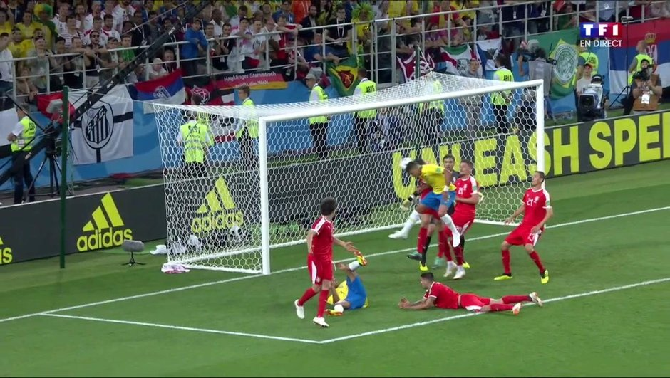 Serbie-Brésil (0-2) : le match en un clin d'œil