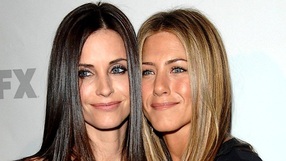 Jennifer Aniston et Courteney Cox fâchées ?