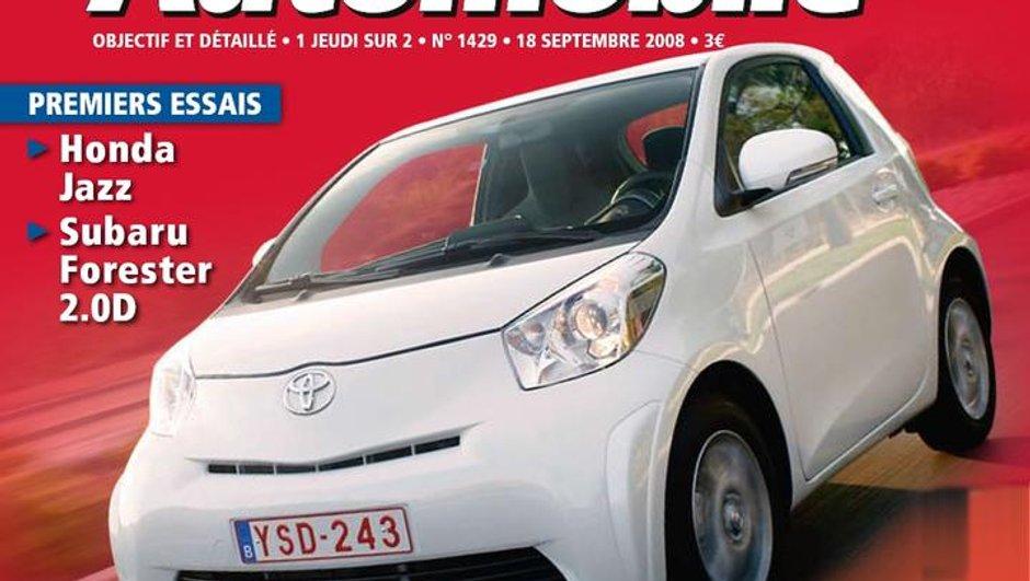 Au sommaire du Moniteur Automobile du 18 septembre