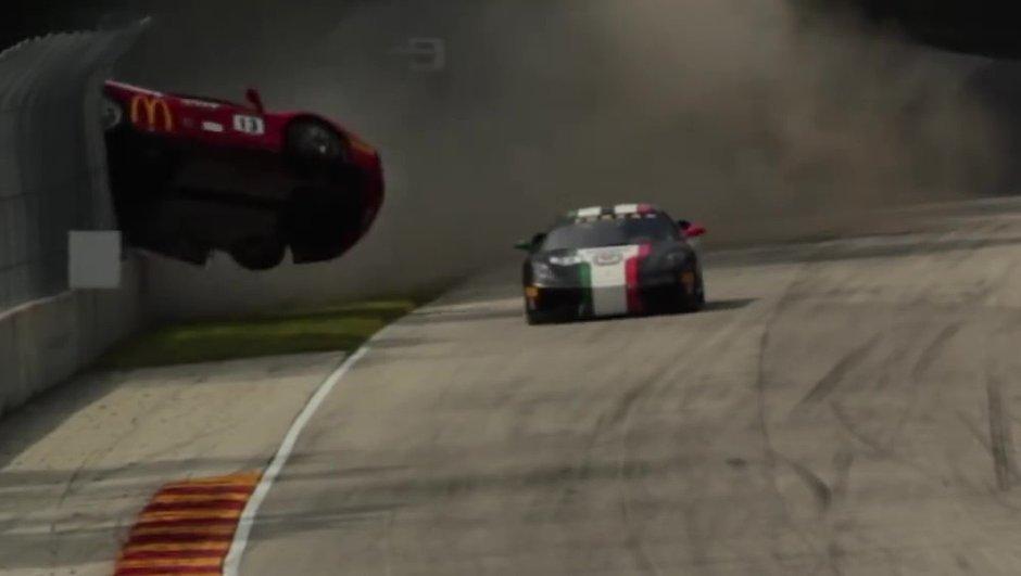 Vidéo : Un accident spectaculaire en Ferrari Challenge