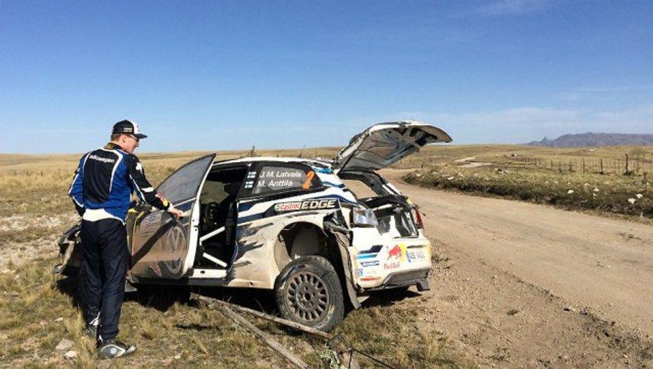 WRC - Rallye d'Argentine 2016 : l'impressionnant crash de Jari-Matti Latvala