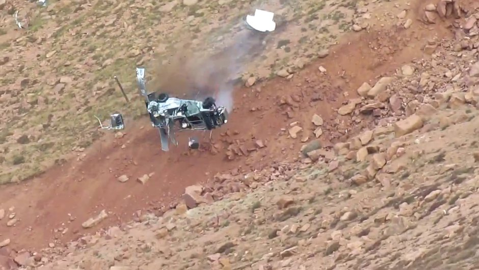 Vidéo : le crash de Jeremy Foley à Pikes Peak