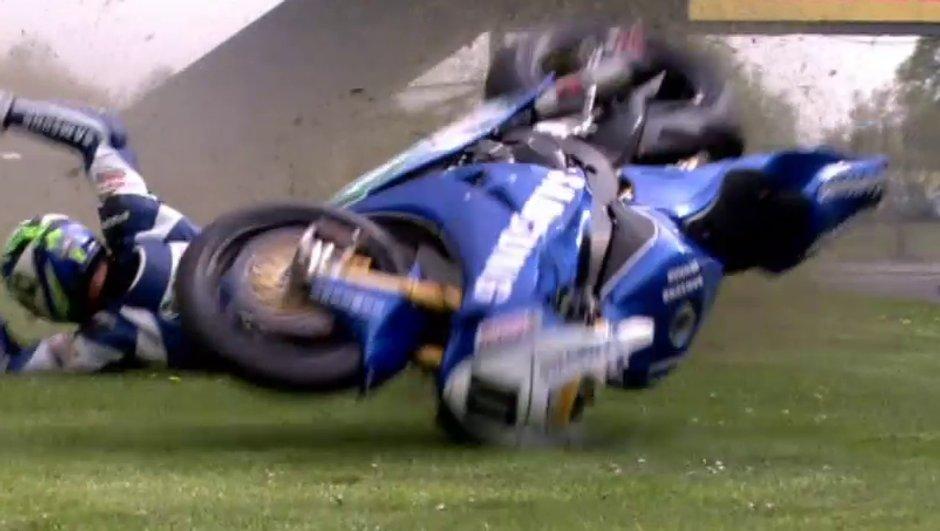 Vidéo : le crash de Kirkham en British Superbike