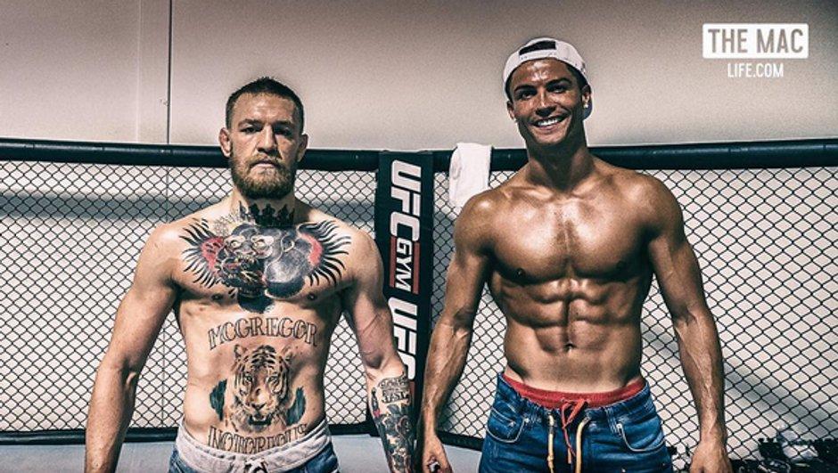 Insolite : Cristiano Ronaldo s'initie au MMA avec Conor McGregor