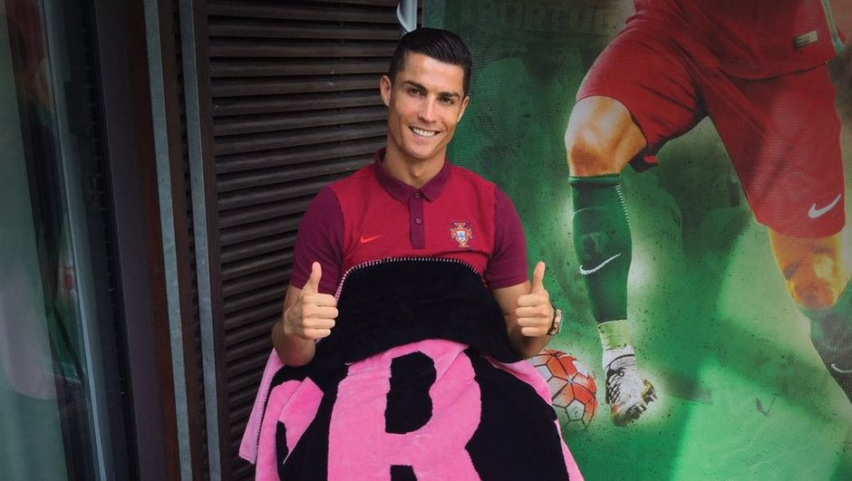 Cristiano Ronaldo : et maintenant, des couvertures de luxe