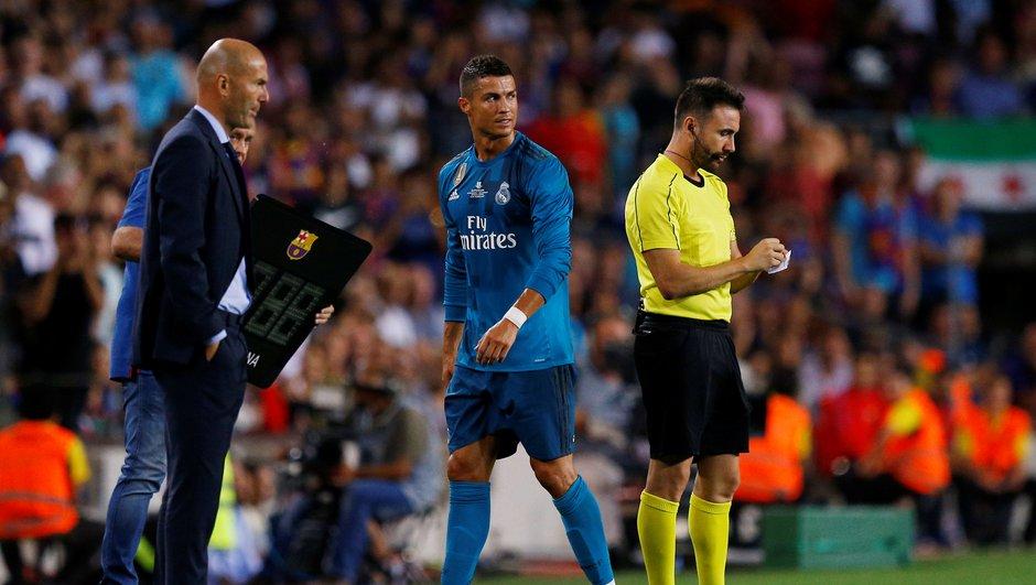 Supercoupe d'Espagne: Zidane en colère pour la suspension de Ronaldo