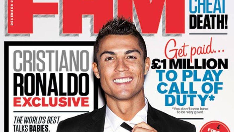 Cristiano Ronaldo pose pour FHM et parle de son futur club