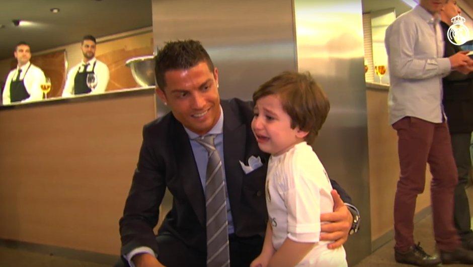 Real Madrid : Cristiano Ronaldo a rencontré Haidar