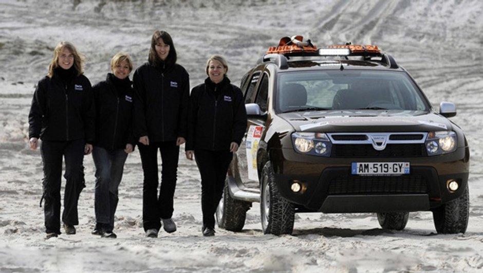 Le Dacia Duster au Rallye Aïcha des Gazelles