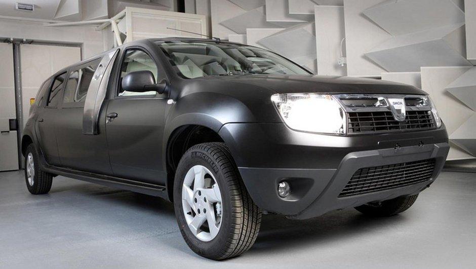 Insolite : Une Dacia Duster limousine !