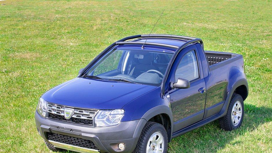 Insolite : un Dacia Duster pick-up, seulement en Roumanie