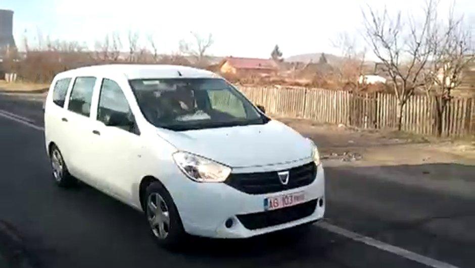 Dacia Lodgy : le monospace déjà sur la route