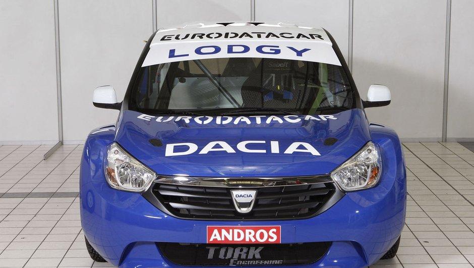 Dacia Lodgy : le futur monospace en version Trophée Andros