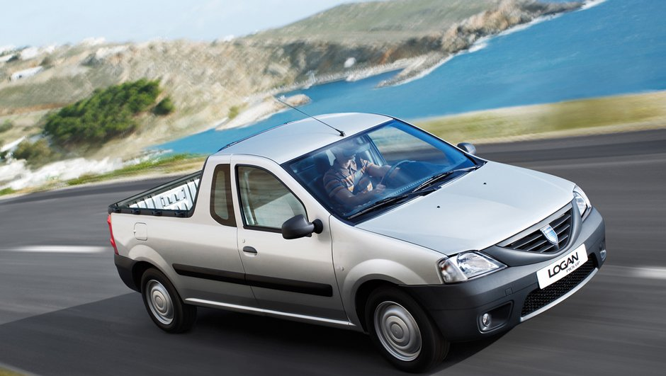 Dacia Logan van et pick-up