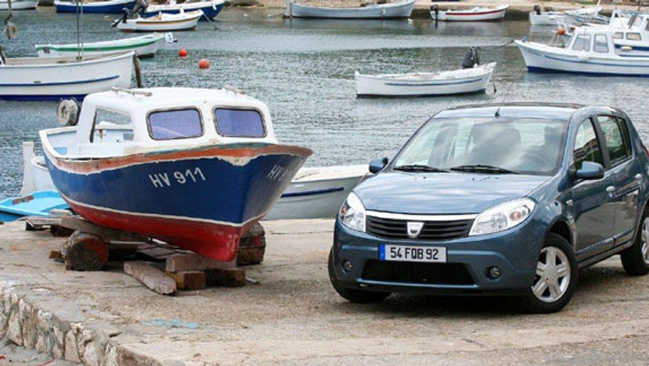 Dacia Sandero 1.6 MPI 90 ch : La berline compacte