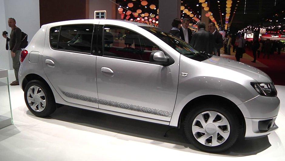 Mondial de l'Auto 2012 : la nouvelle Dacia Sandero dès 7.900 euros