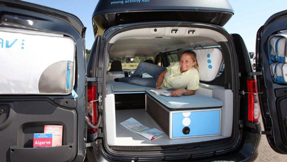 Dacia Young Activity Van III : quand la Logan MCV se fait camping-car