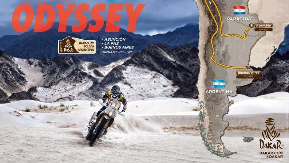 Dakar 2017 : le parcours du rallye-raid prend de la hauteur !