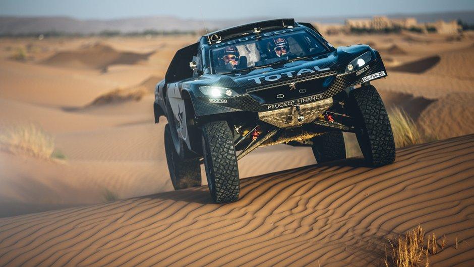 Dakar 2016 : Peugeot présente le 2008 DKR16