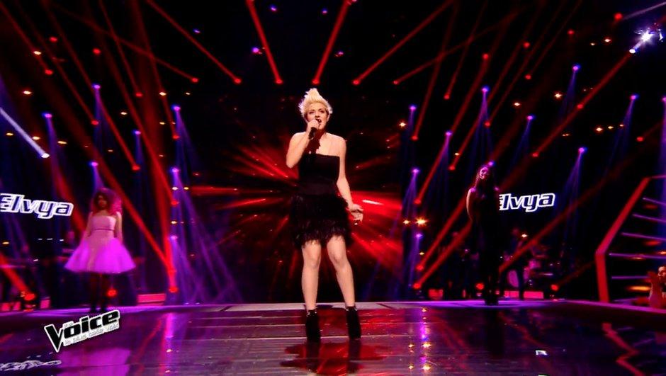 The Voice 4 - VIDEO : La folie d'Elvya convainc Florent Pagny de l'emmener aux Lives