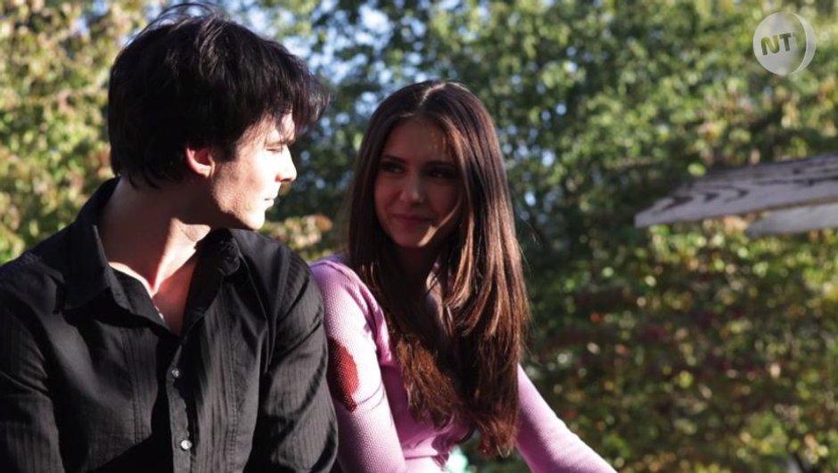 Vampire Diaries : Ian Somerhalder et Nina Dobrev de retour dans la peau de Damon et Elena ?