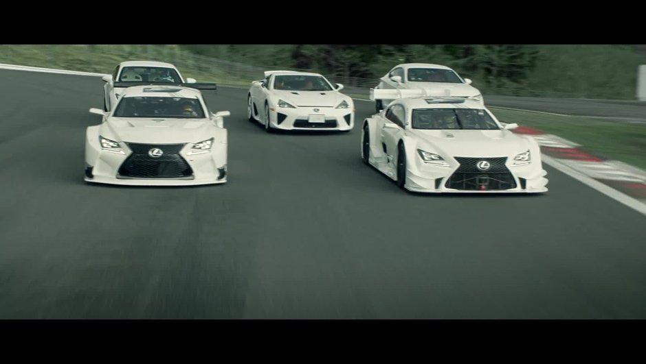 """Vidéo Insolite : """"Dance of Lexus F"""""""