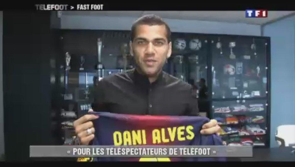 Grand jeu Telefoot : Découvrez le vainqueur du maillot de Dani Alves !