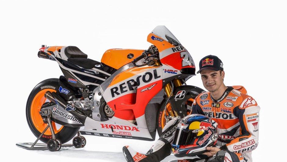 MotoGP : Pedrosa prolonge jusqu'en 2016 avec Honda